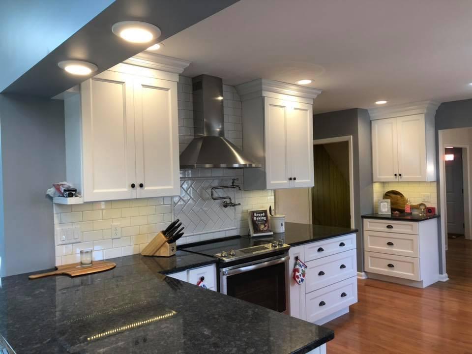Bryn Mawr Electrical Kitchen Lighting