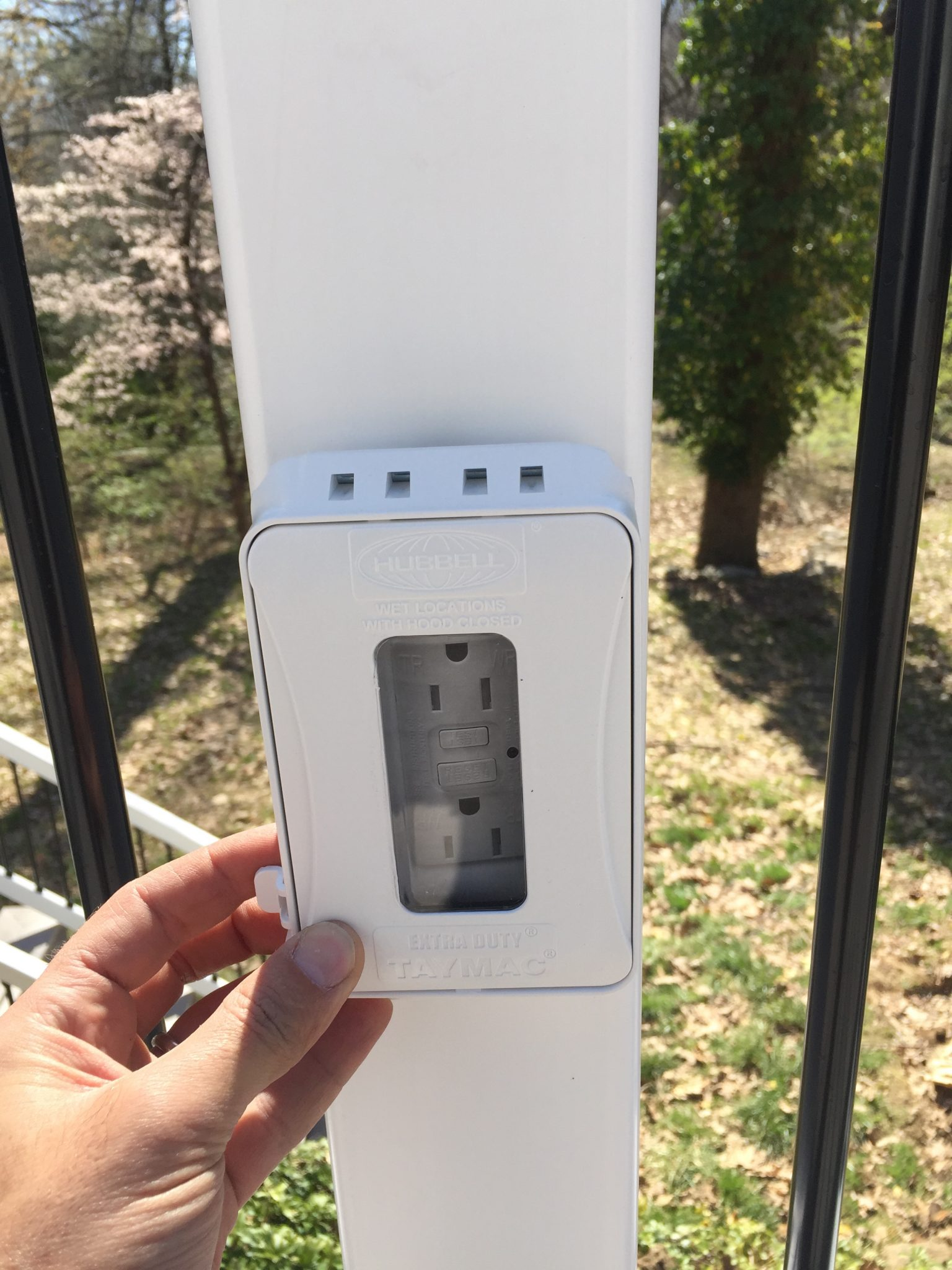 Outdoor And Deck Electrical Receptacles A And M Electric