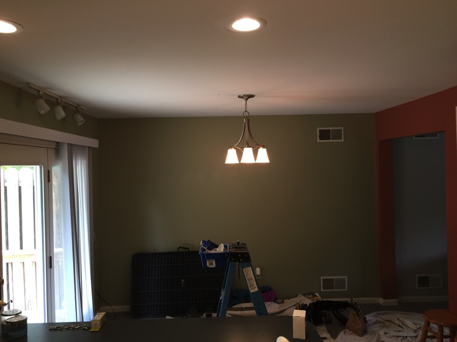 Recessed Lights Bathroom Light Fixtures And Ceiling Fans Installed A And M Electric Llc