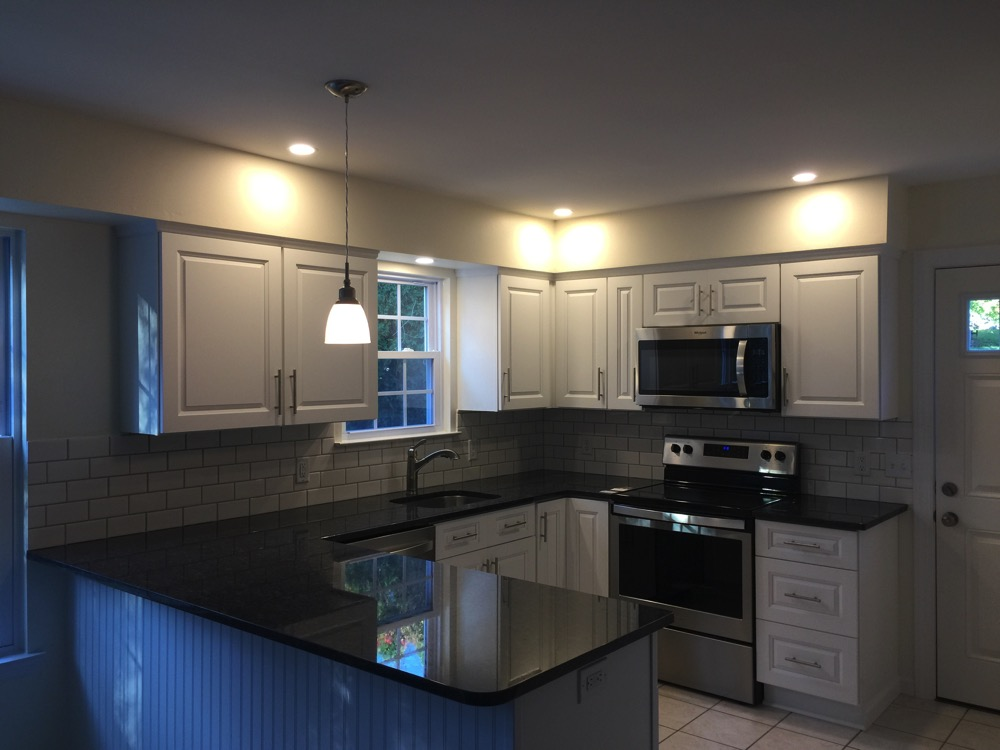 New Kitchen Lights Installed In Morgantown Pa A And M