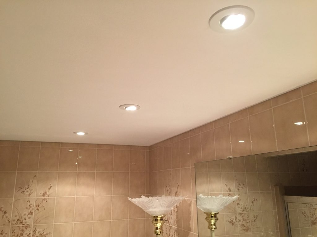 Recessed Bathroom Lights